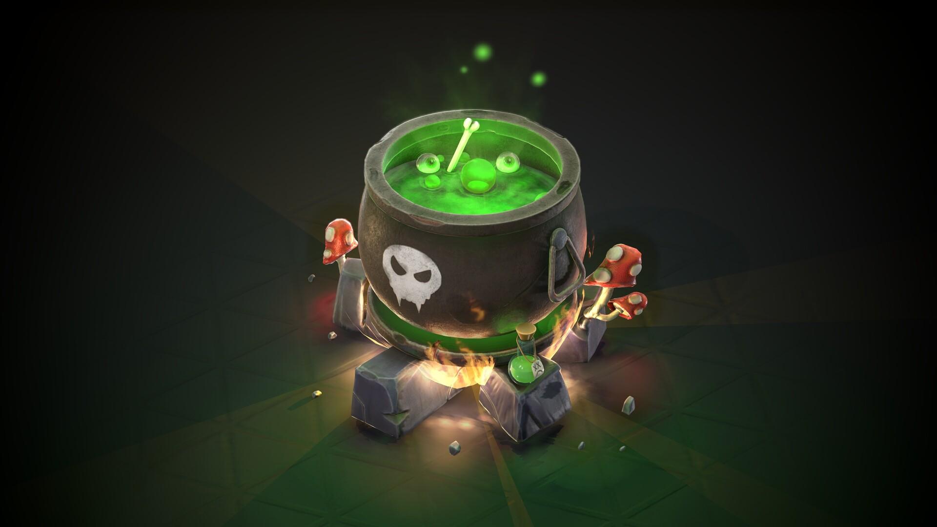 Stylised Cauldron TUTORIAL !