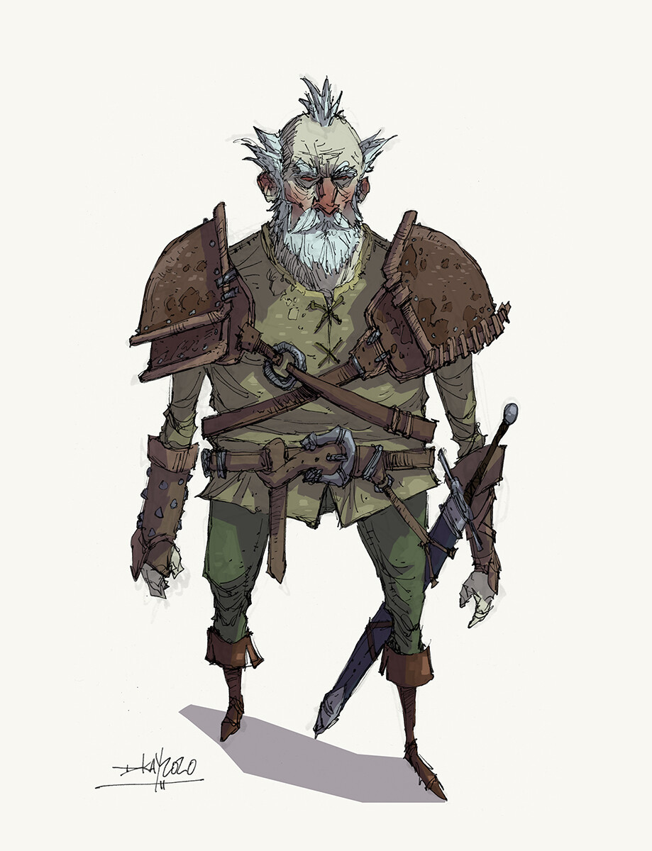 Retired Adventurer.