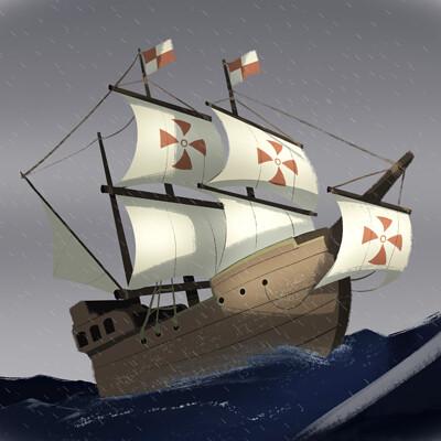 Pedro hernandez vasquez 2 barco antiguo