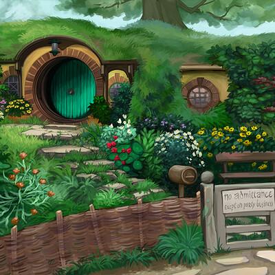 Sandra rosado hobbithole