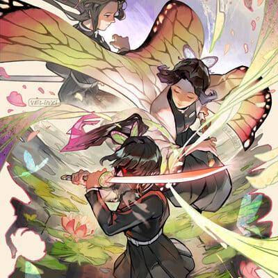 Xiao tong kong butterfly 2