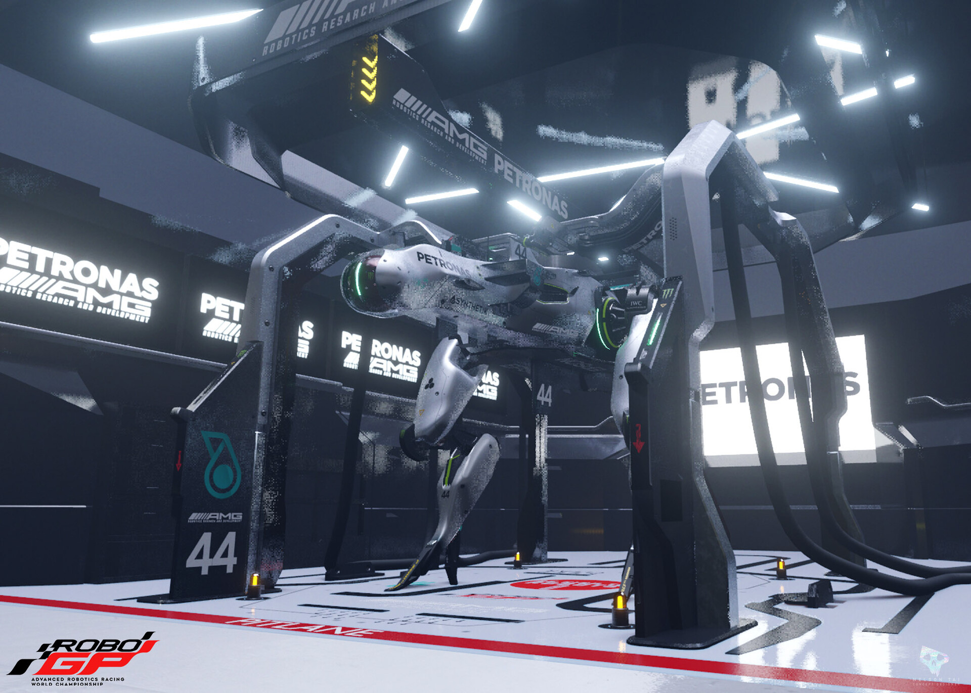 blender viewport - The Garage