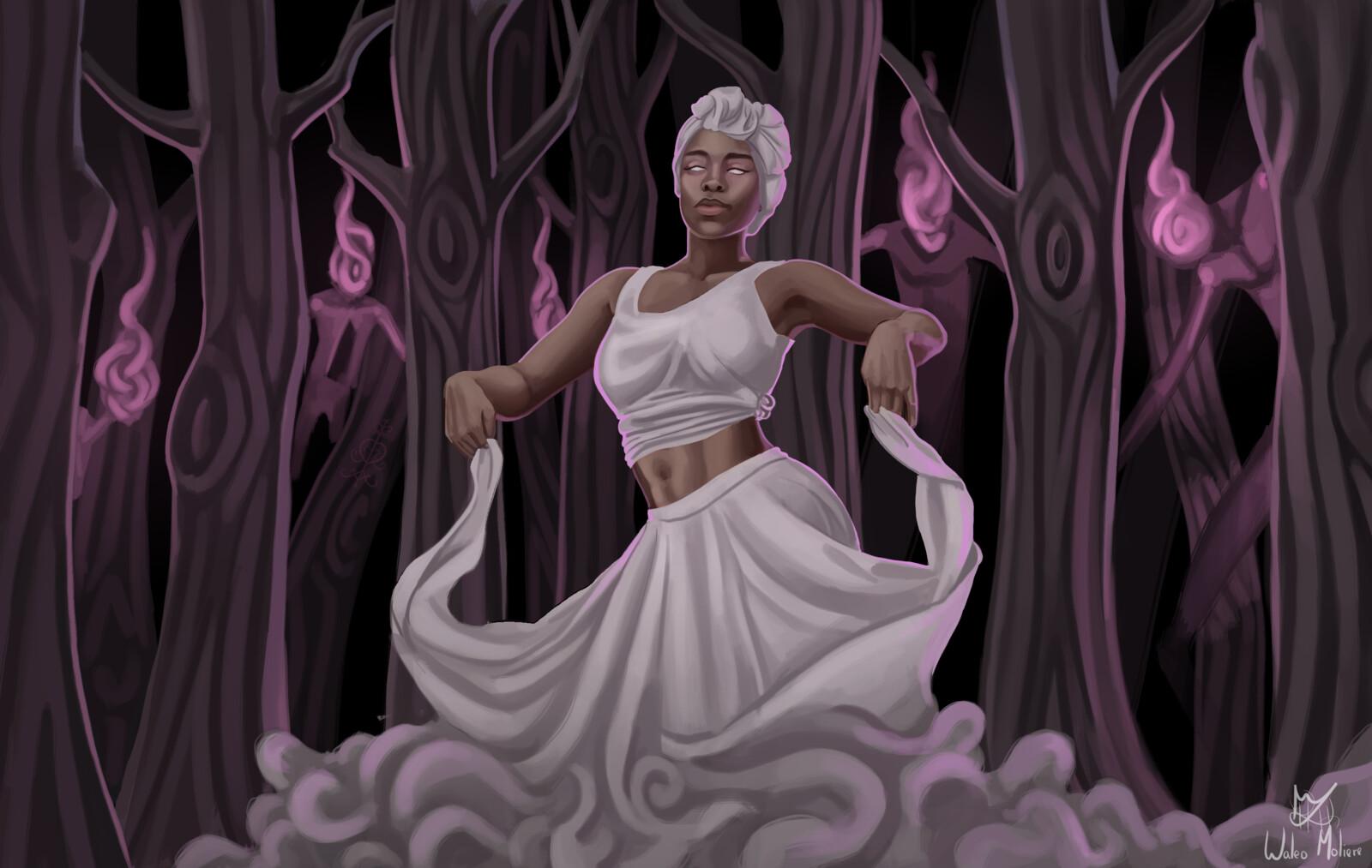 Manbo- Voodoo priestess