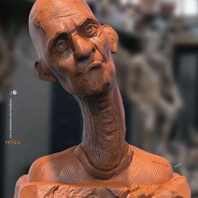 Surajit sen nosek digital sculpture surajitsen march2020