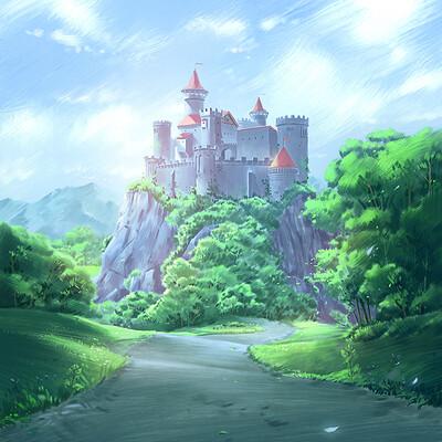 Nele diel peaceful castle