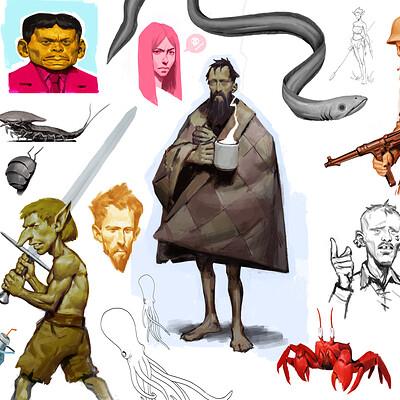 Jens claessens sketchbook