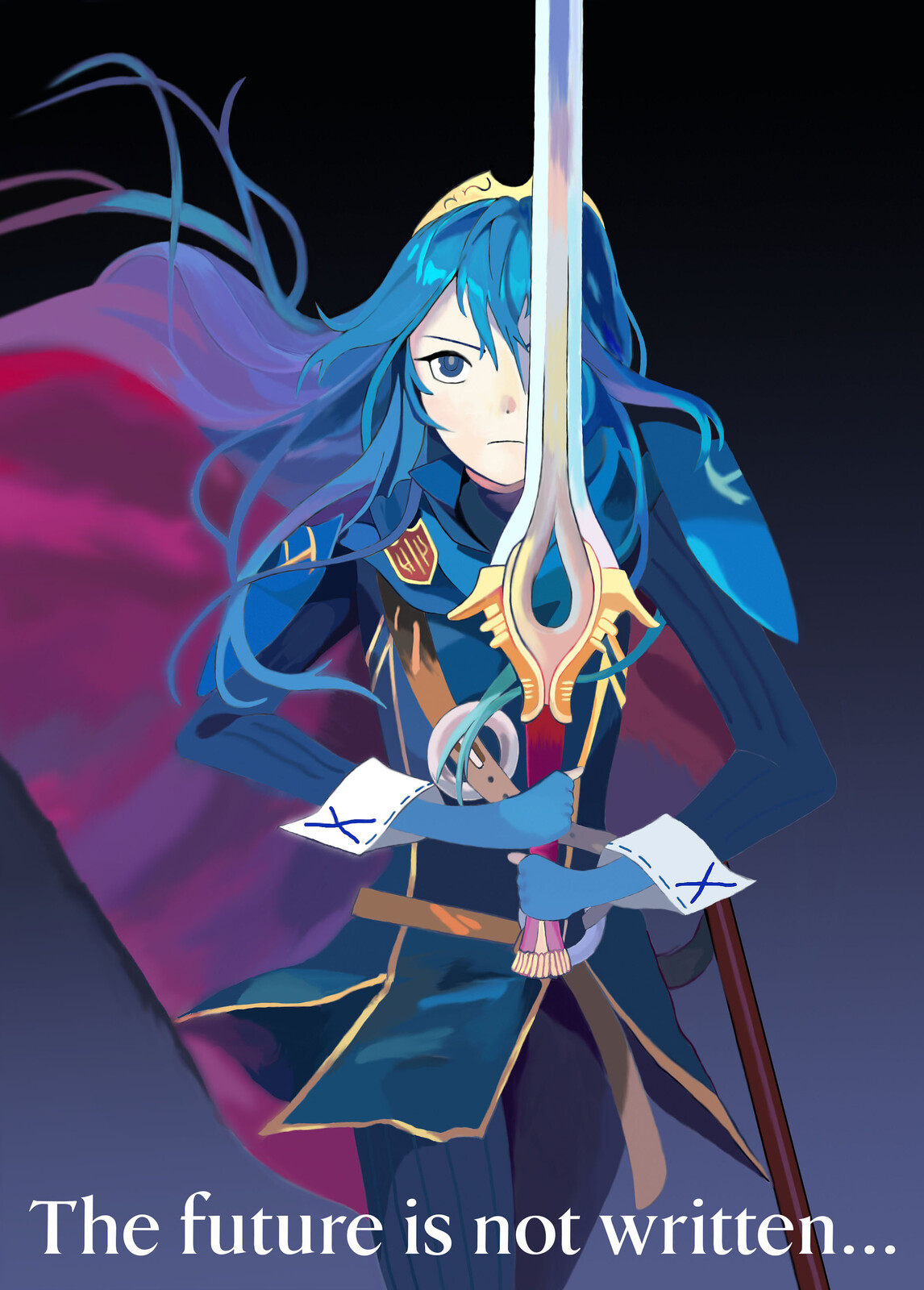 Fire Emblem - Lucina Fan Art