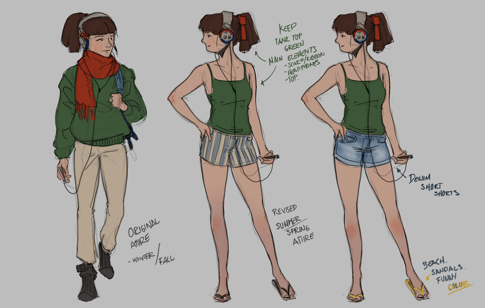Study Girl redesign