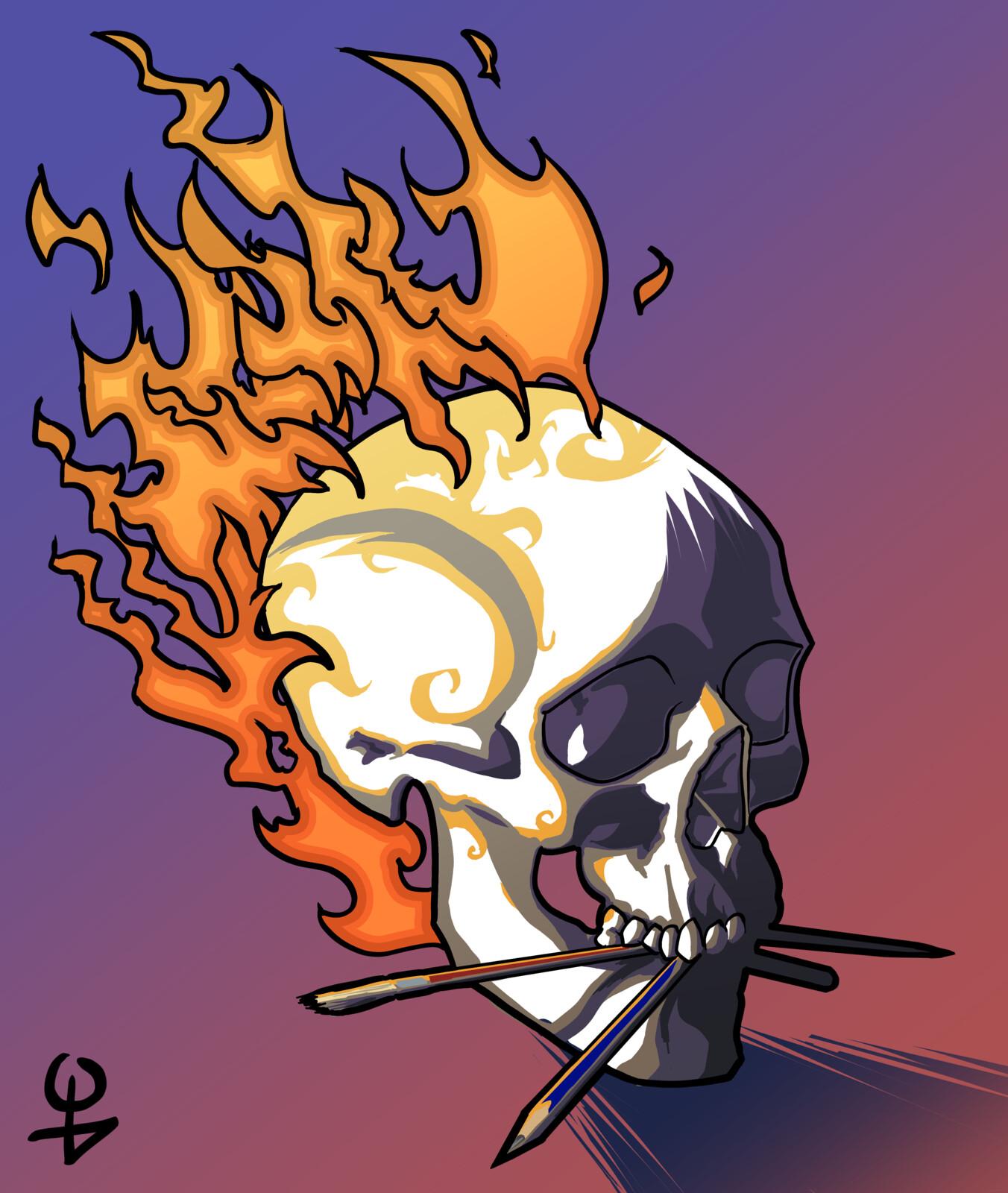 Skull vector (?)