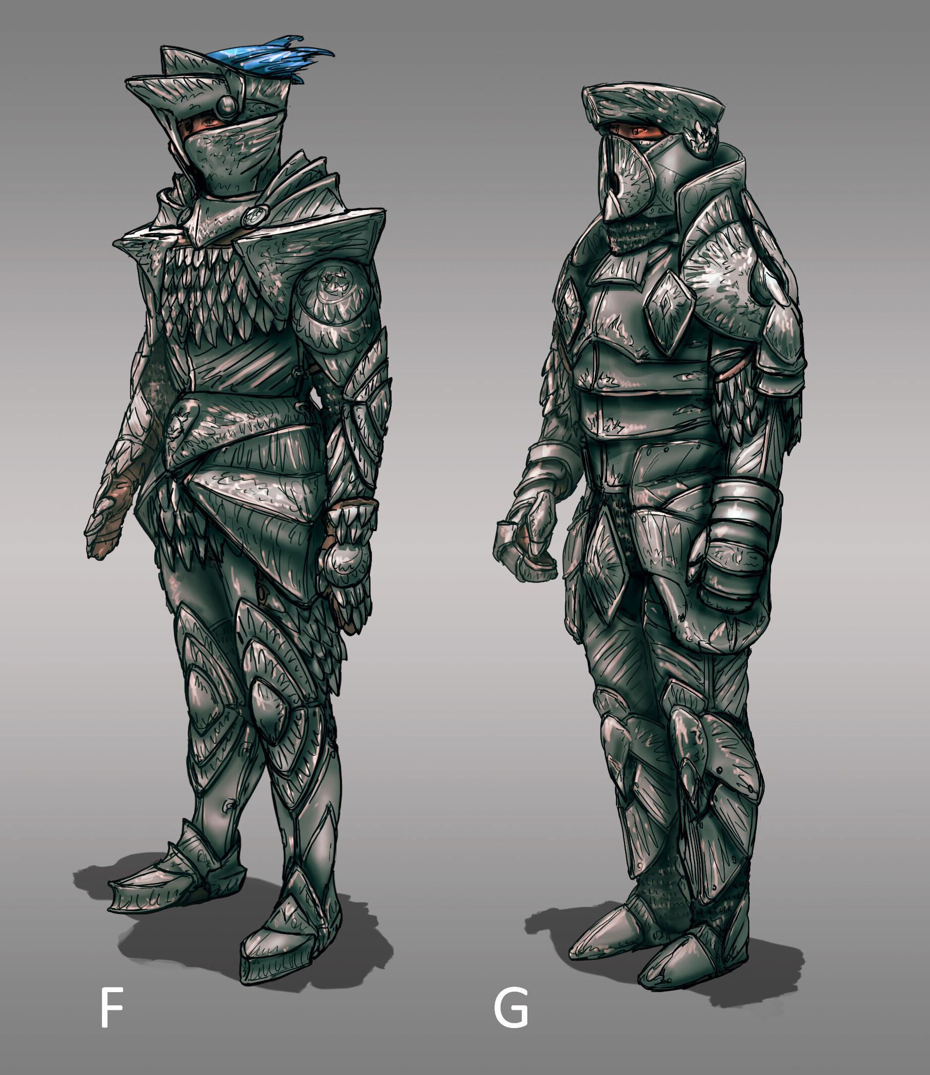 The Siege: Knight Armor Designs 01 (120min)   // Fantasy / Medieval / Props / Design The Siege: Knight Armor Designs 01 (120min)
