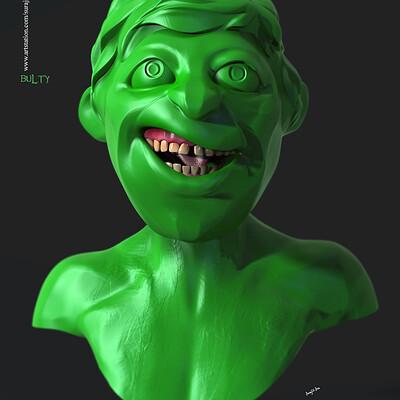 Surajit sen bulty digital sculpture surajitsen march2020s