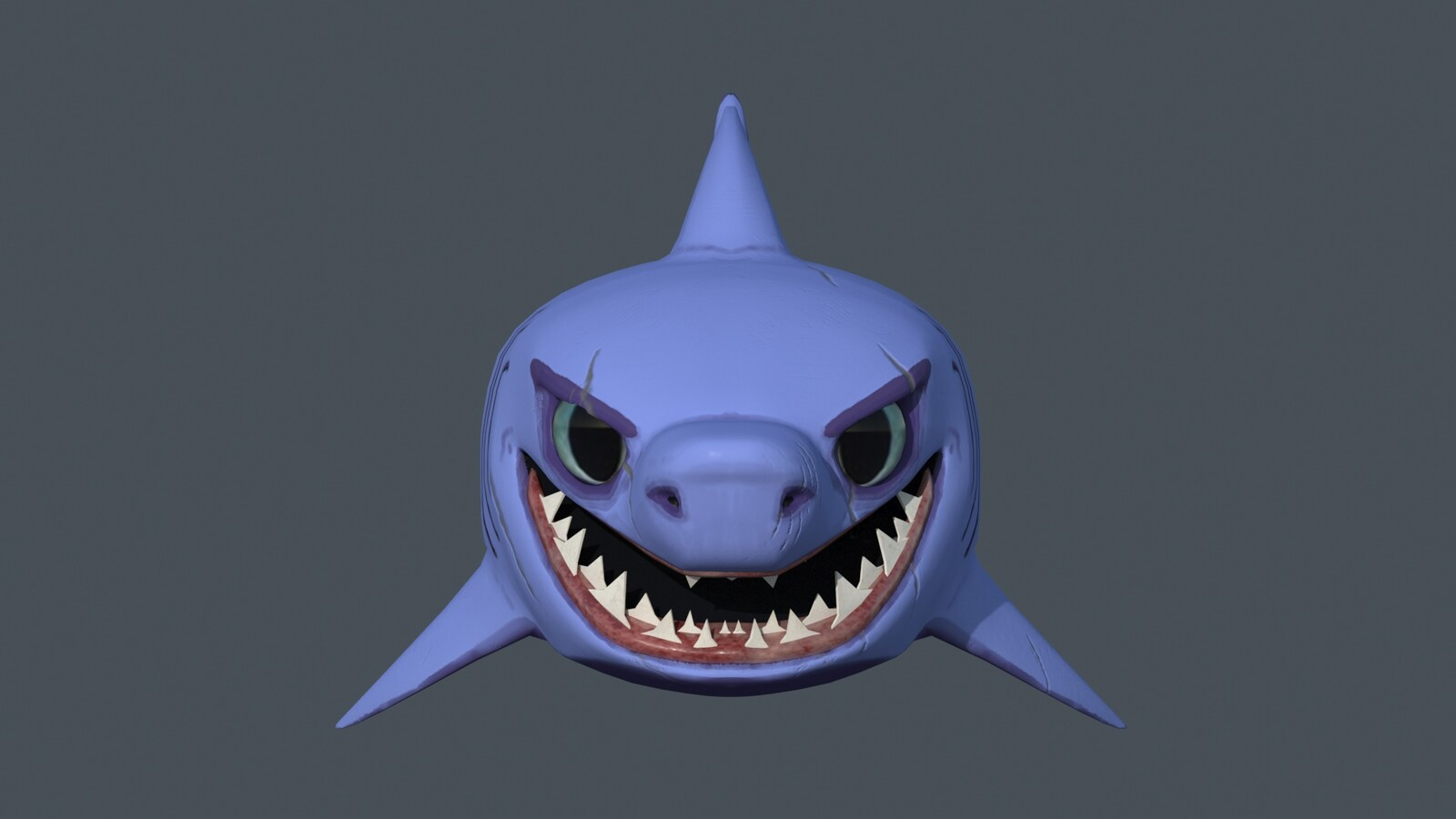 Shark high poly final face