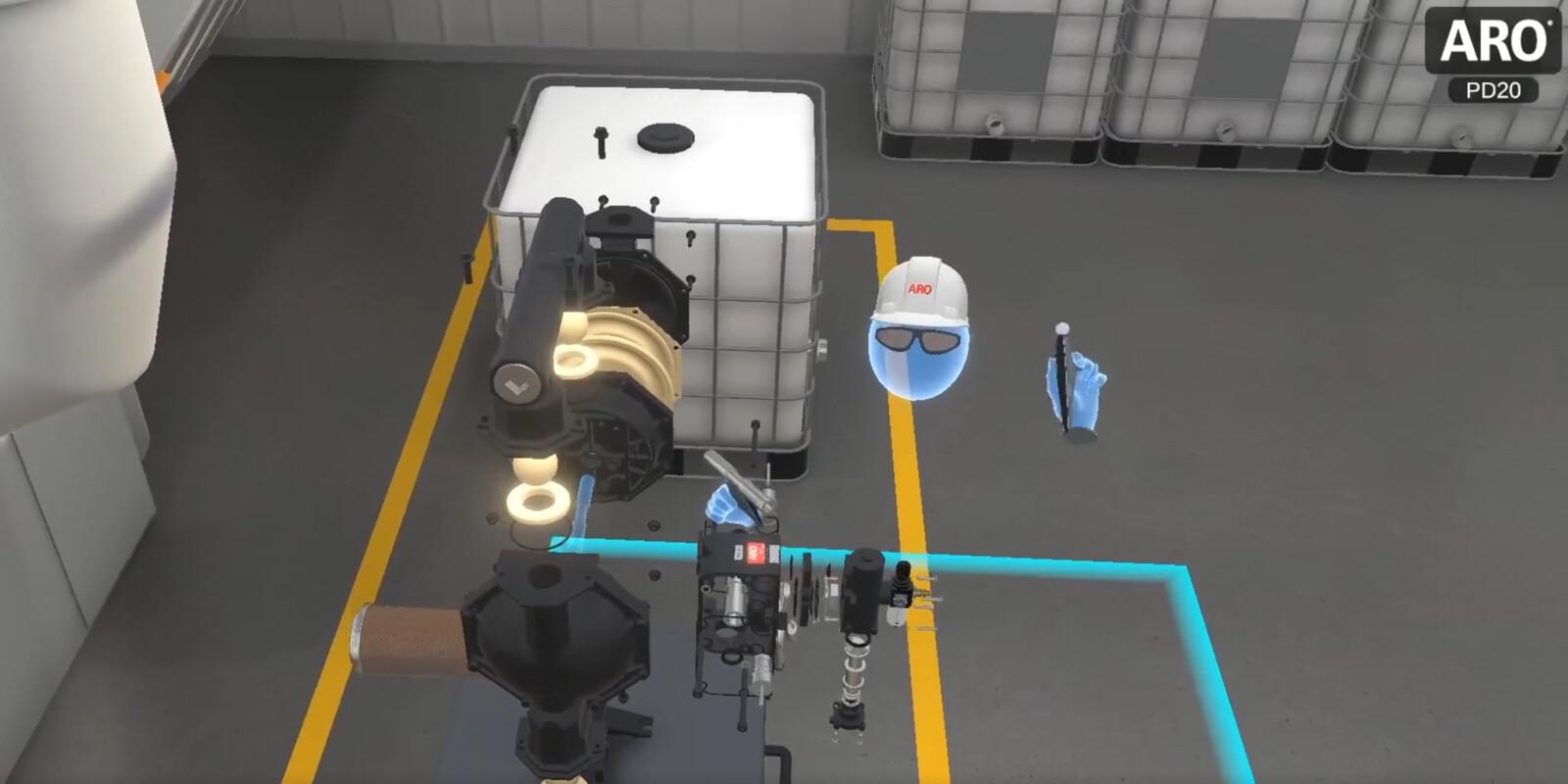 ARO PD20 Virtual Reality Experience