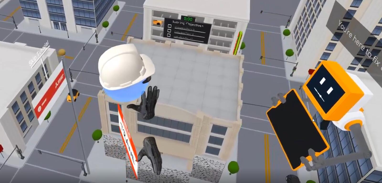 Trane VRF VR Trade Show Experience