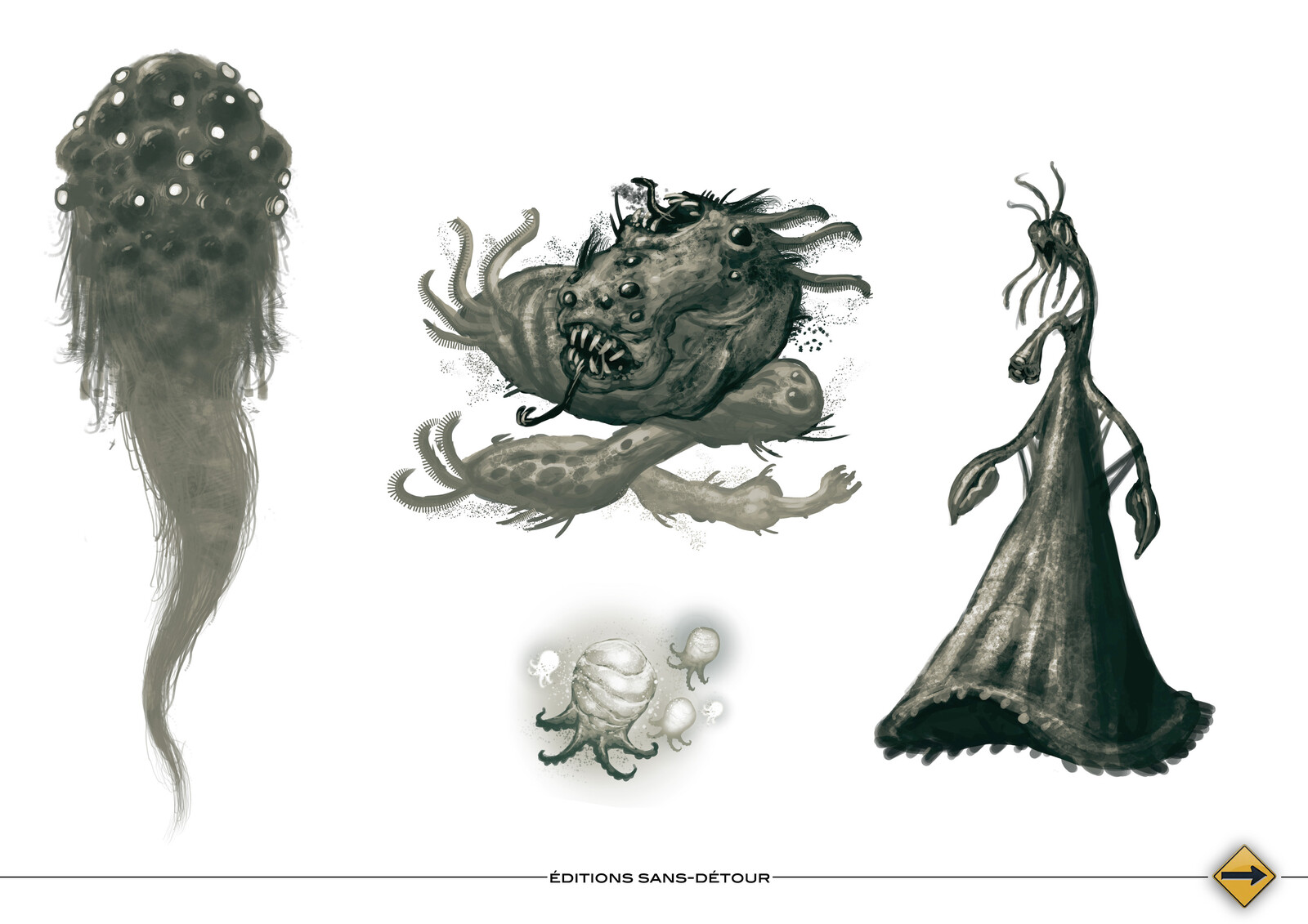 Shoggoth, Flying PolypFire, Vampire, Great Race of Yith