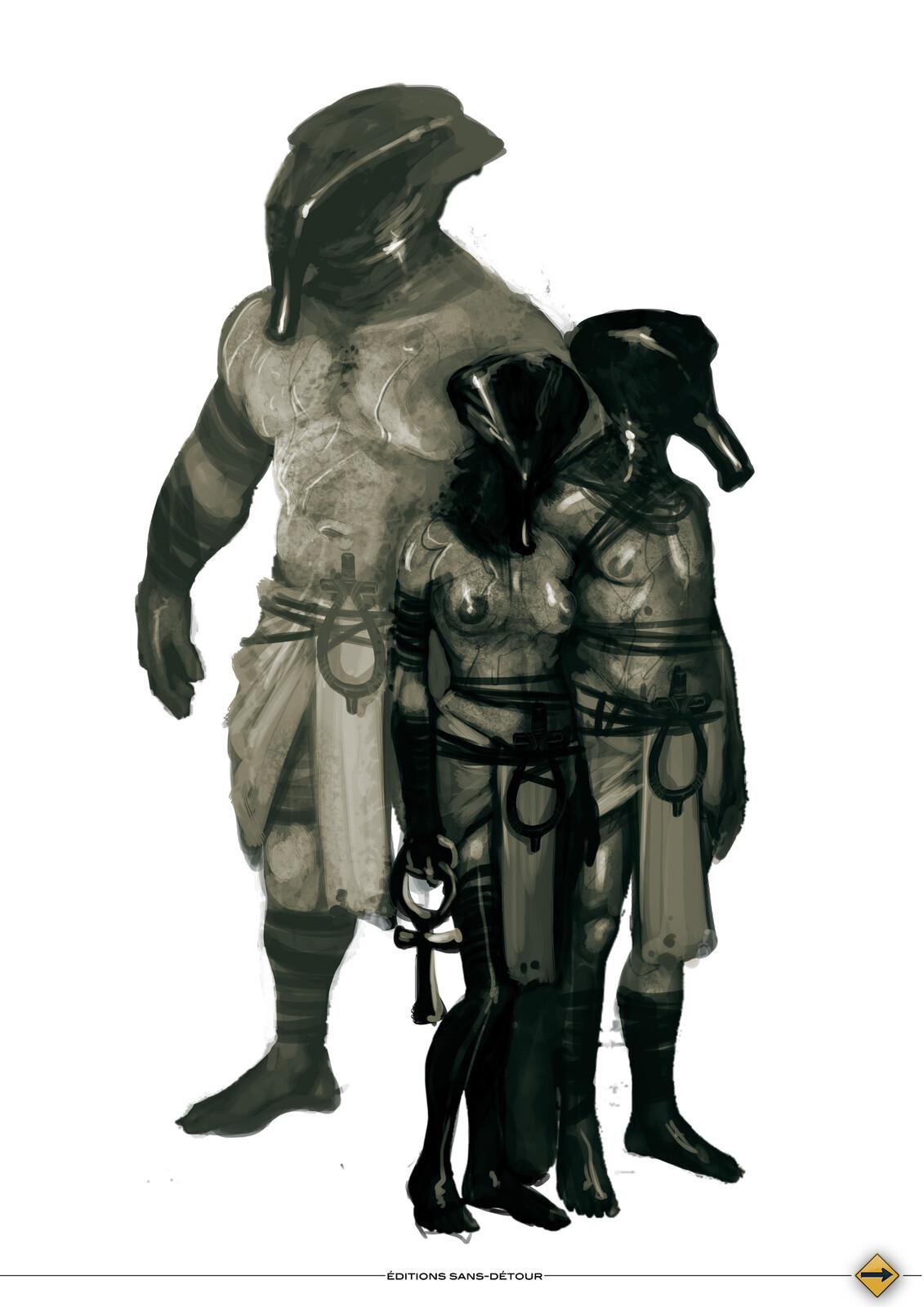 Children of the Sphinx