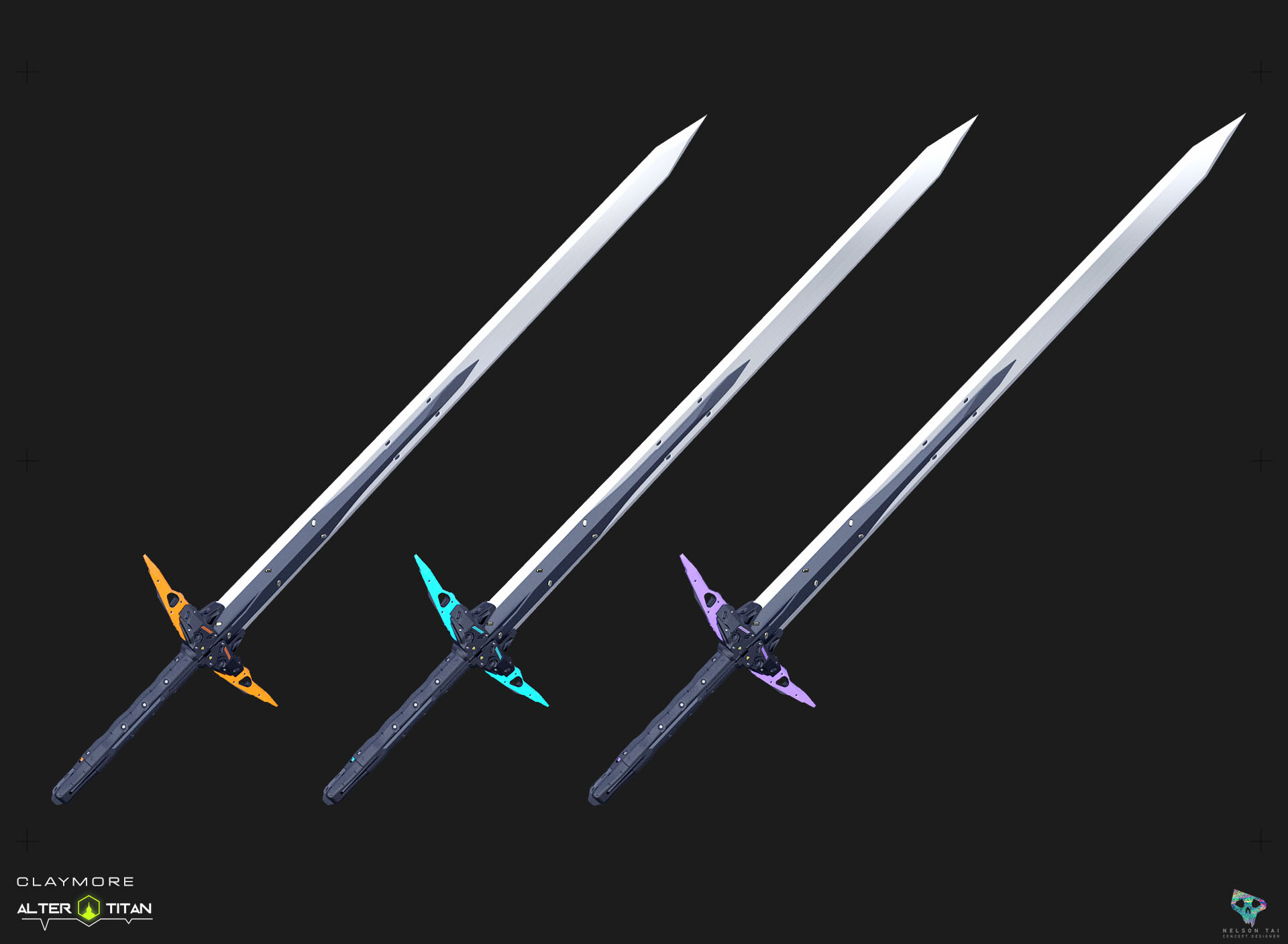 Pick your Claymore!