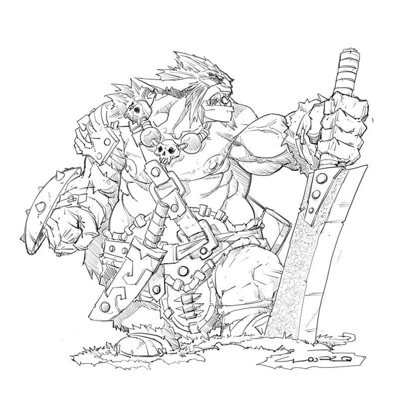 Bugbear miniature project