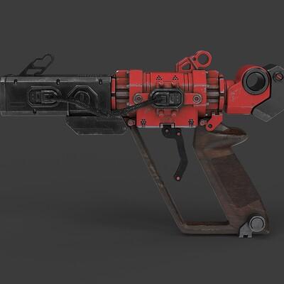 Federico zimbaldi sci fi pistol 988