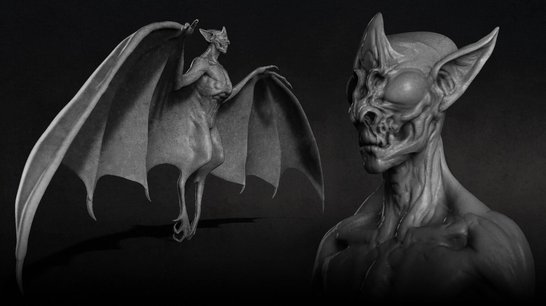 Hybrid  bat concept.
