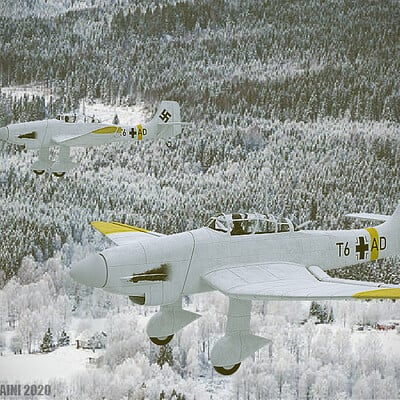 Sterling saini render ju 87 snowy 1 postprocessed 1