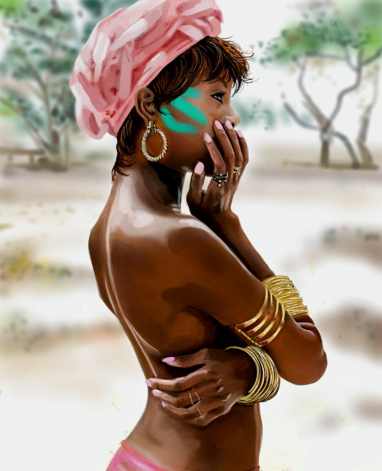 Sexy black girl Cute Women