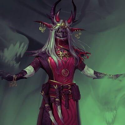 Mikhail palamarchuk red elf spirit caster