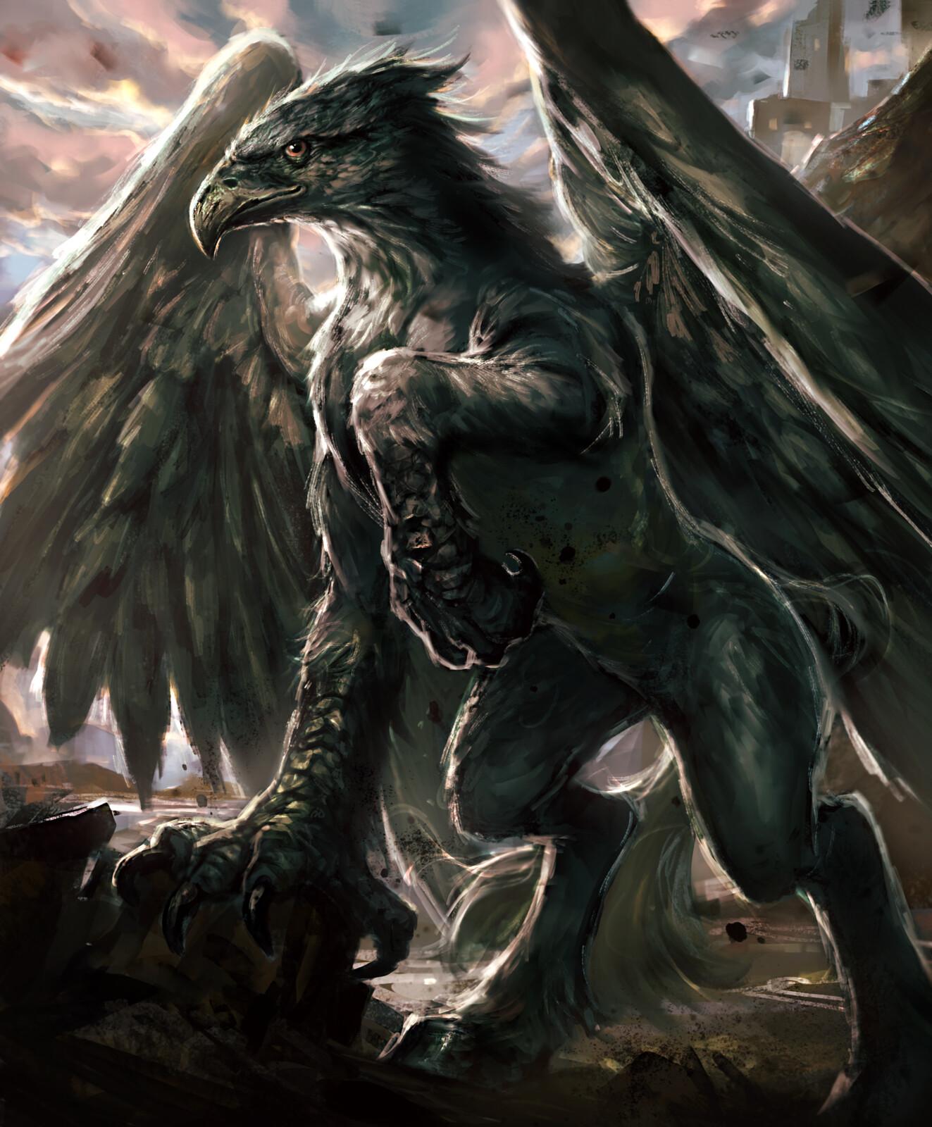 Hippogriff-tcg art