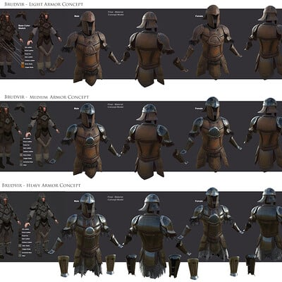 Eddie smith brudvier armor concept sheet