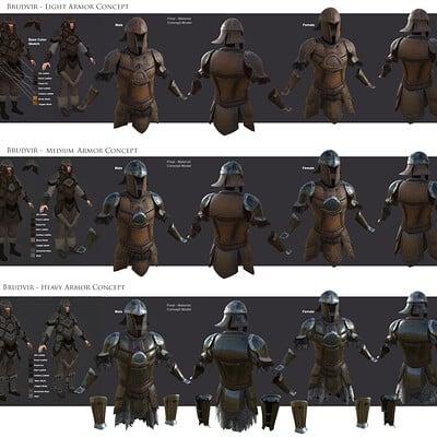 Eddie smith brudvier armor concept sheet