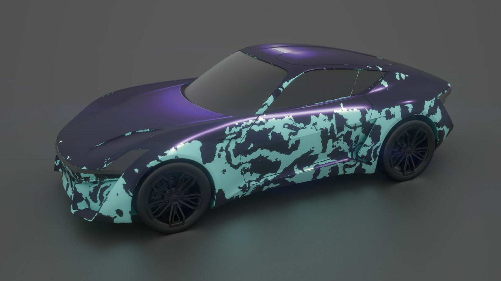Variation with different grunge and light (that determines the decal placement angle).