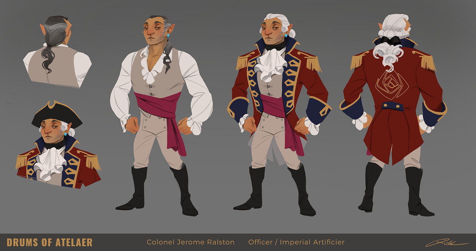 Colonel Ralston Design Sheet