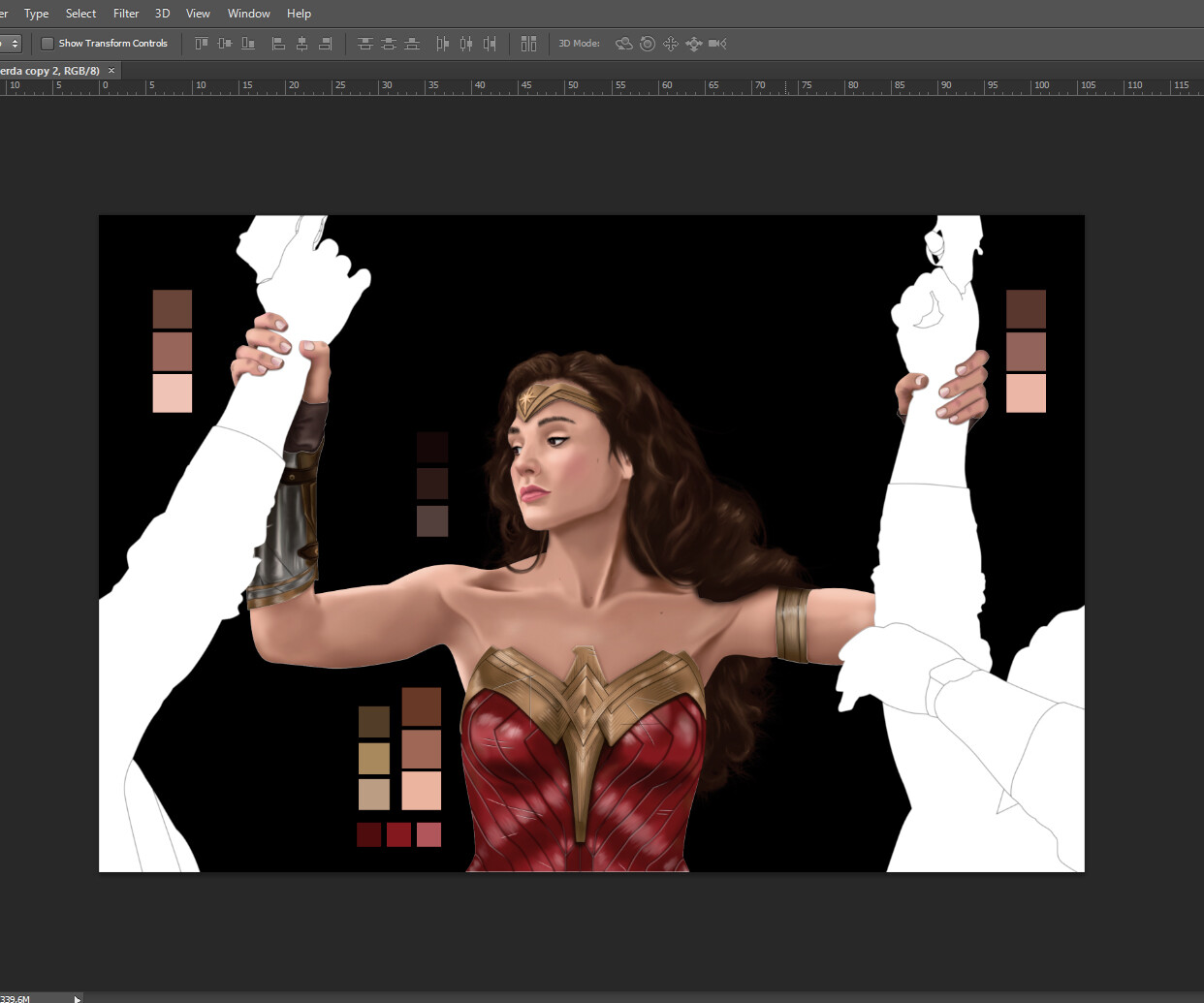 11 hours only to finish Wonder Woman