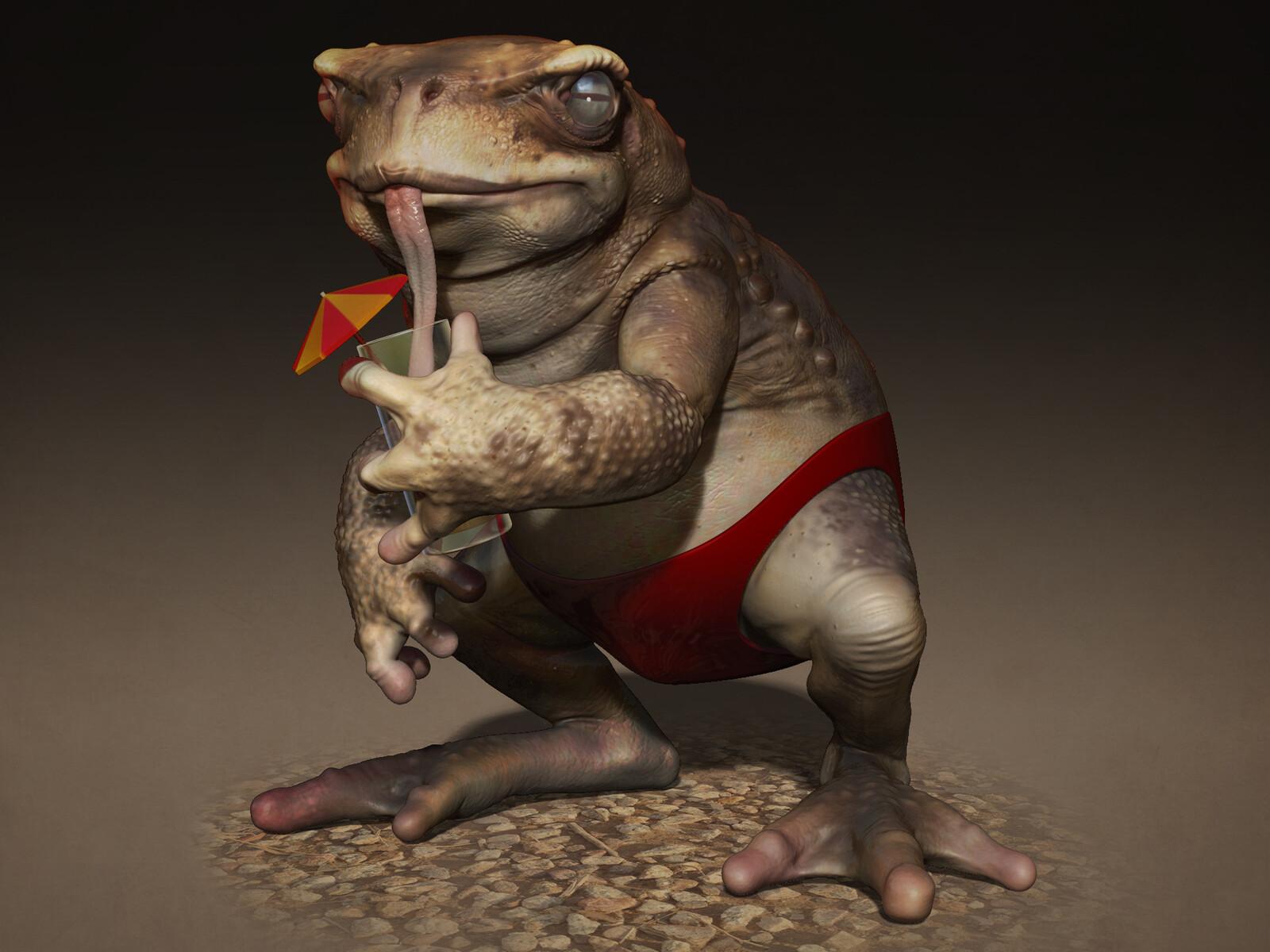 Slurpy Toadpants