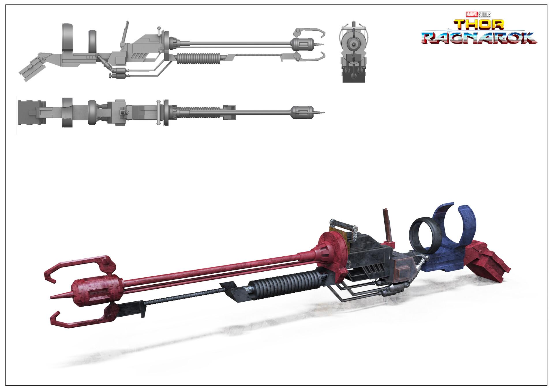 Sakaar - scrapper weapon.