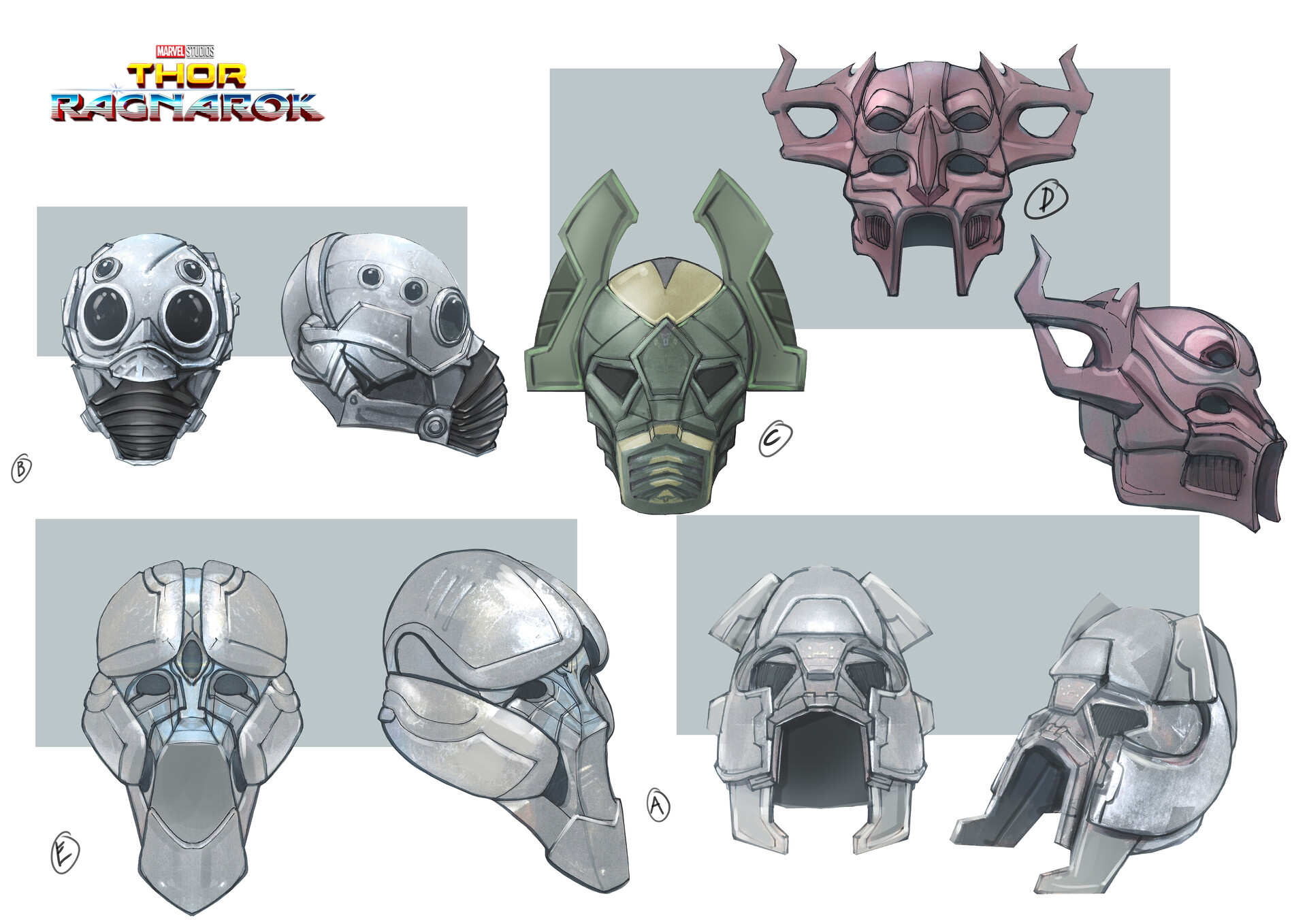 Background  charater/prop masks .