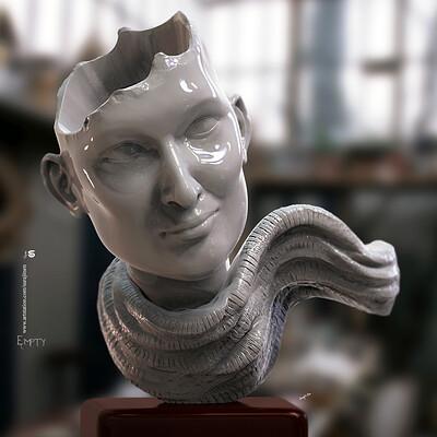 Surajit sen empty digital sculpture surajitsen march2020 s1