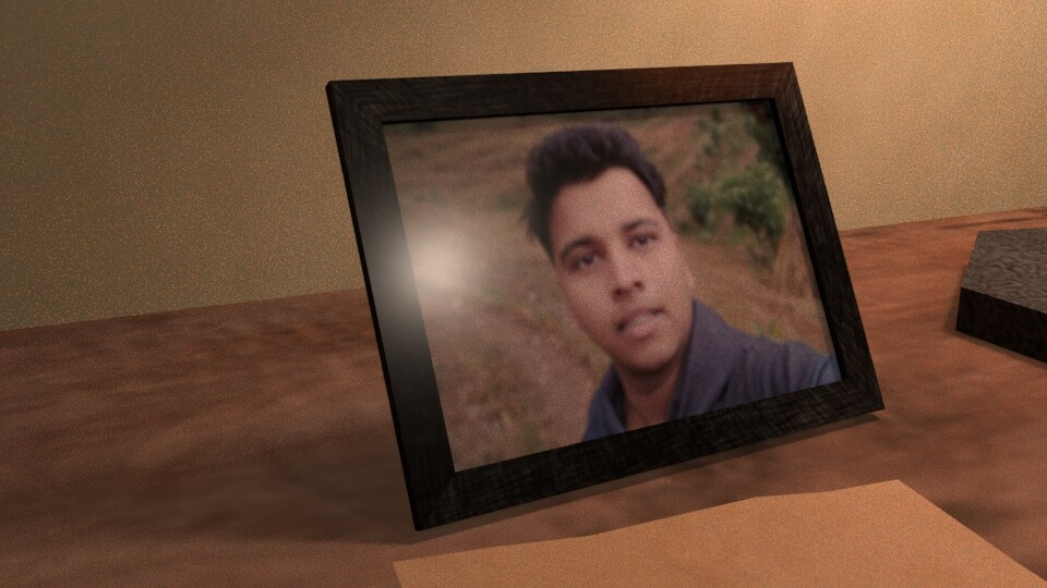 3d Photo Frame of me