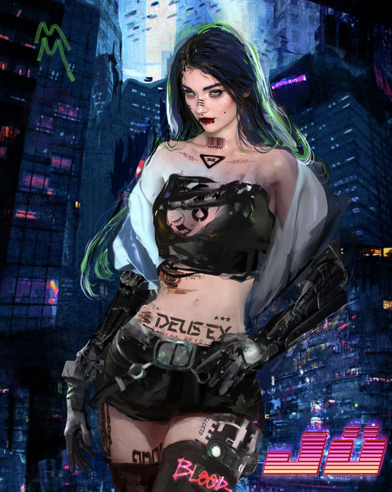 HAマSH Cyberpunk