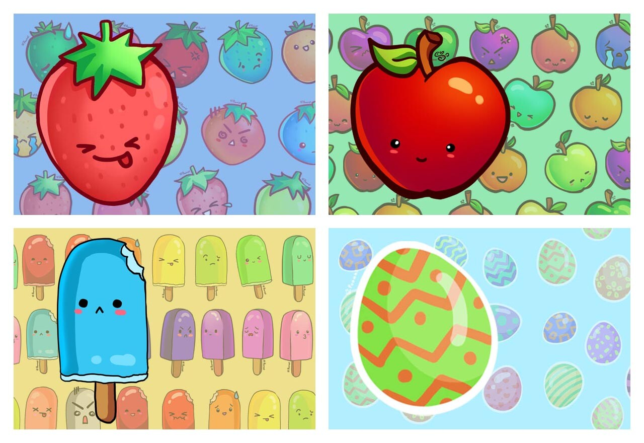 Poomki - Sticker Pack Covers