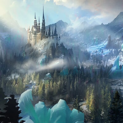 Brent minehan winter castle