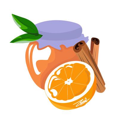 Doriane claireaux orange cinnamon jam 02