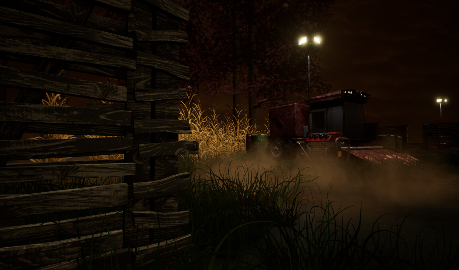 Screenshot of environment in Unreal Engine 4