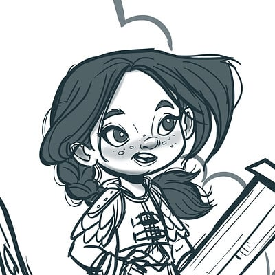 Vipin jacob little warrior girl