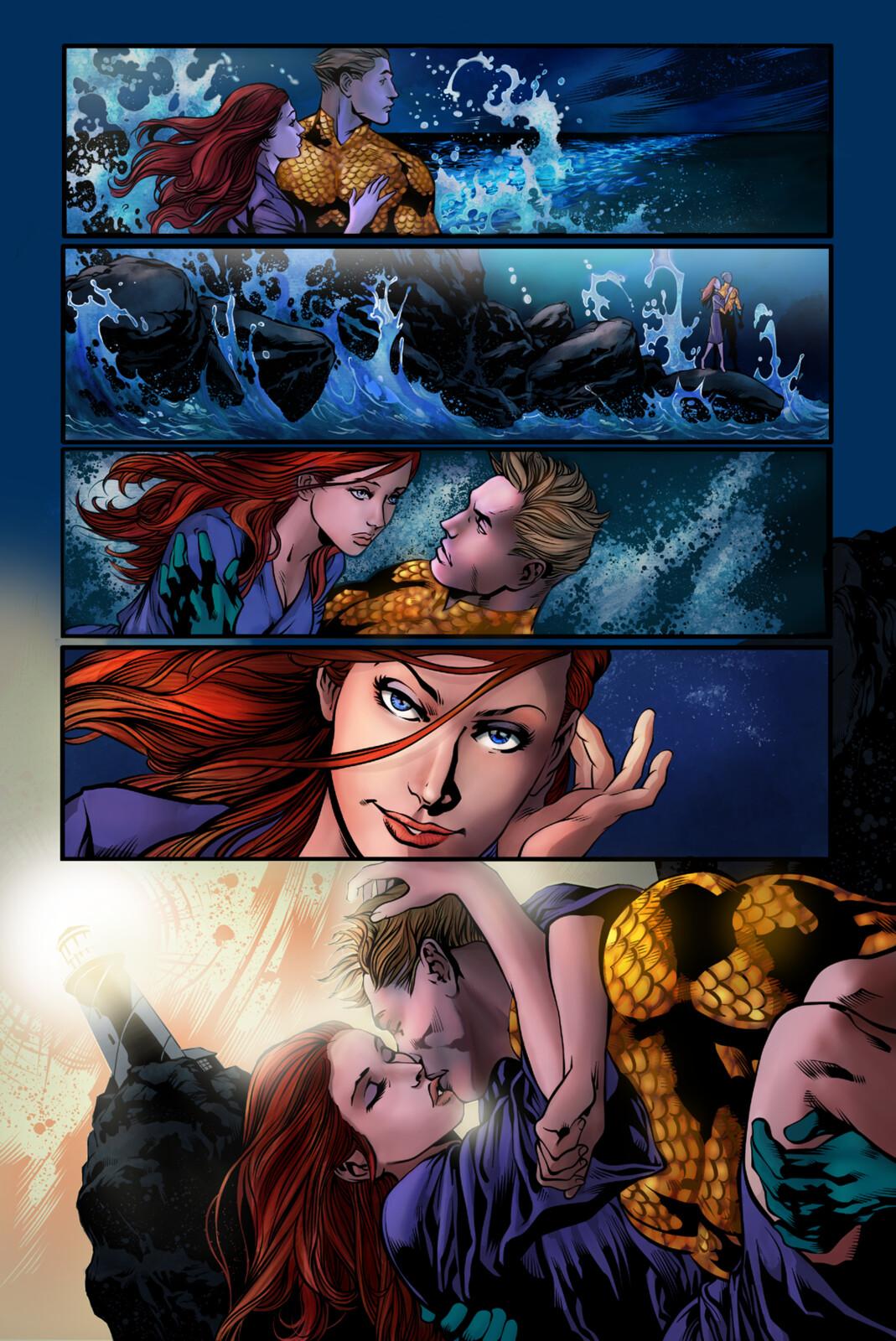 Aquaman pg. 2 - Colors