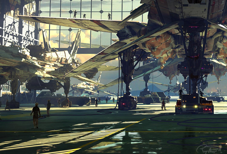 B19 Fleet (Hangar Scene) -Details