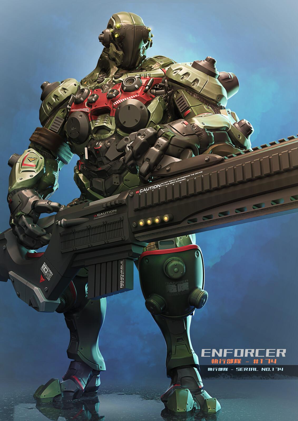 Military Police Enforcer Concept