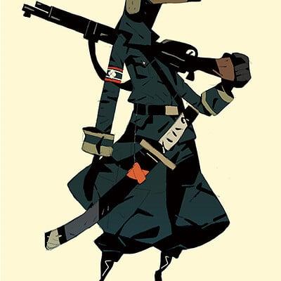 Satoshi matsuura 2020 02 06 plague soldier s
