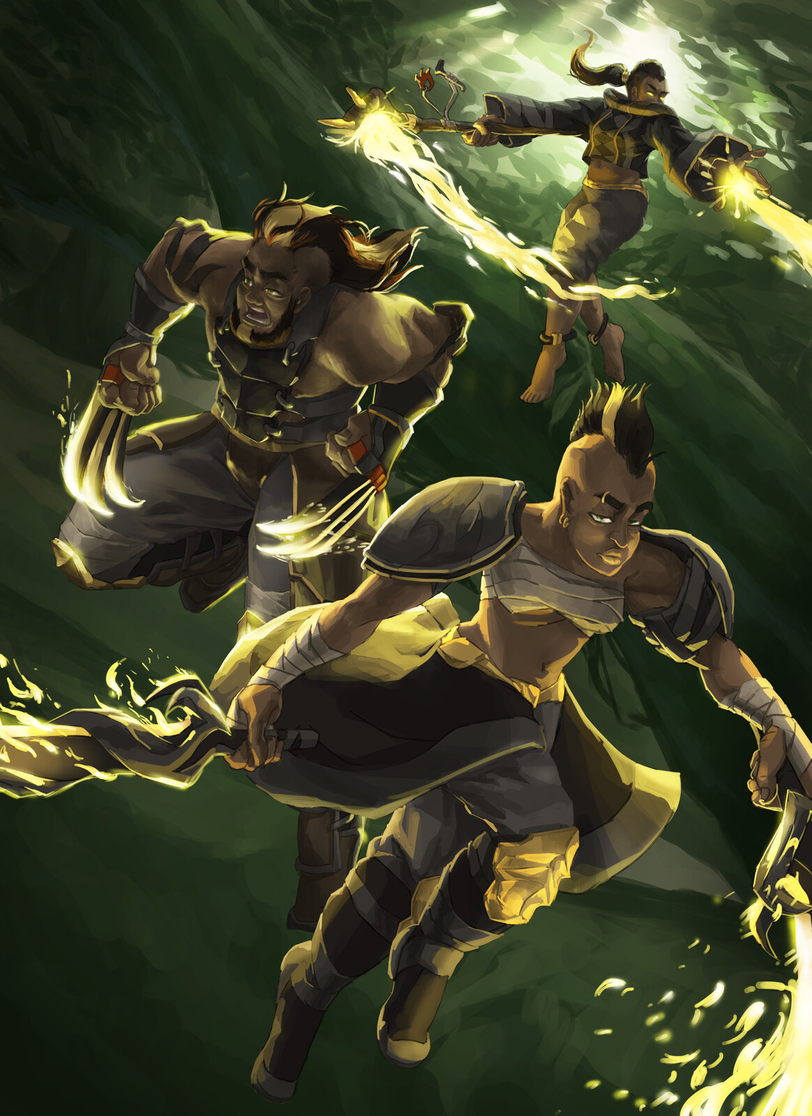 Protectors of the Golden Flame