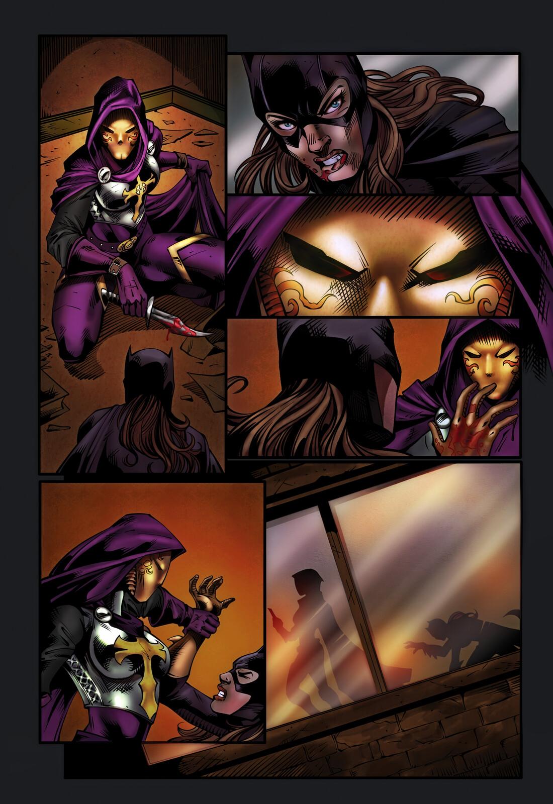 Batgirl Knightfall